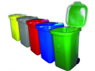 Купить мусорный бак пластиковый 240л РФ