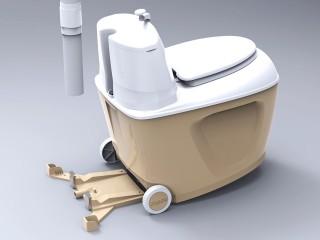 Торфяной биотуалет Piteco 905 (с вентилятором)