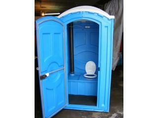 Уличная туалетная кабина бак с подогревом