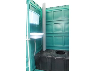 Уличная туалетная кабина бак с подогревом, раковина, рукомойник с подогревом (17л)