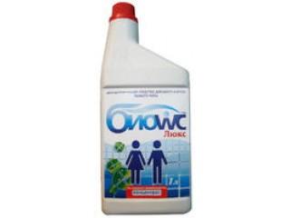 Жидкость для нижнего бака БИОwc ЛЮКС (концентрат), 1 л